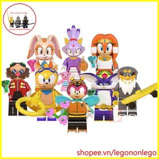 Minifigures nhân vật lego Sonic đặt biệt các minifigure Ray Rabbit Charmy Bee Tikal blaze và Storm WM6087 thumbnail
