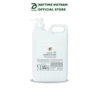 Dầu xả Men vi sinh Nattime dưỡng ẩm và phục hồi hư tổn (SIZE LỚN 2LÍT) thumbnail