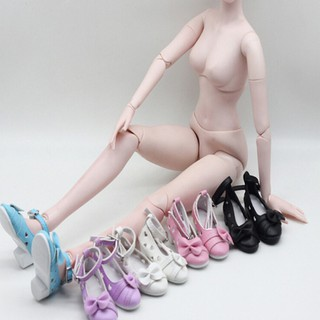 pufang 1 Pair doll bowknot shoes for BJD dolls SD 1 3 doll 60cm doll accessories HOT