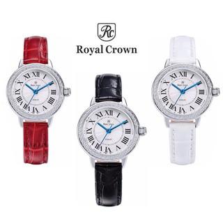 Đồng hồ nữ chính hãng Royal Crown Italy 4601 dây da các màu thumbnail