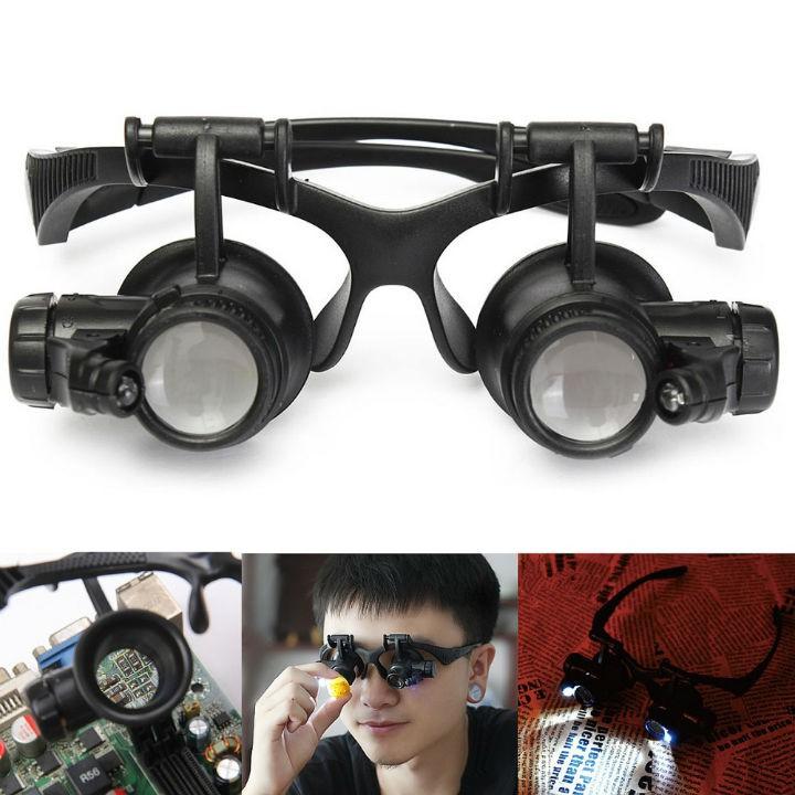 [Mã FA50K8 giảm 15% đơn 150K] Kính lúp đeo mắt có đèn V3