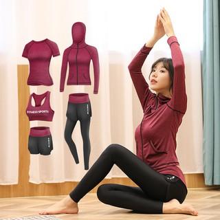 Bộ Đồ Tập Yoga Nhanh Khô Thời Trang