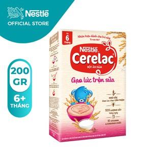 Bột Ăn Dặm Nestle Cerelac - Gạo Lức Trộn Sữa (Hộp 200gram) thumbnail