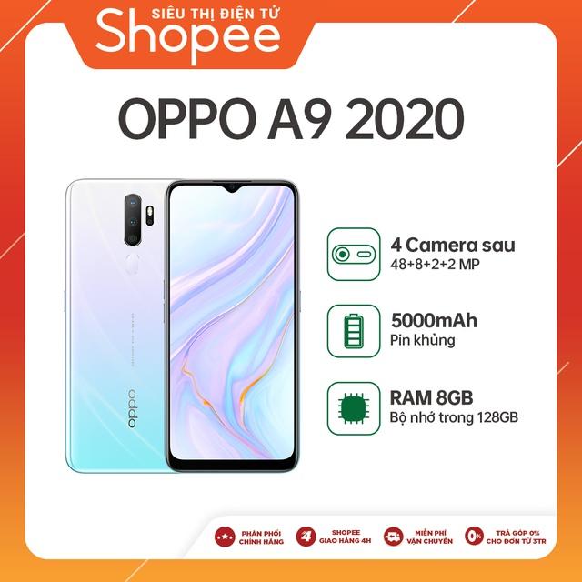 Điện thoại Oppo A9 (8GB/128GB) - Hàng chính hãng