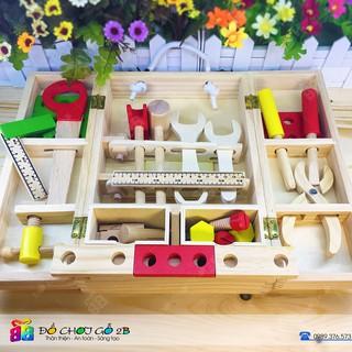 Đồ chơi gỗ Bộ dụng cụ làm mộc