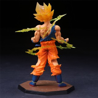 ♥cinglen♥Kids Gift Anime Manga 17CM Super Saiyan Dragon Ball Sun Goku Model Toy