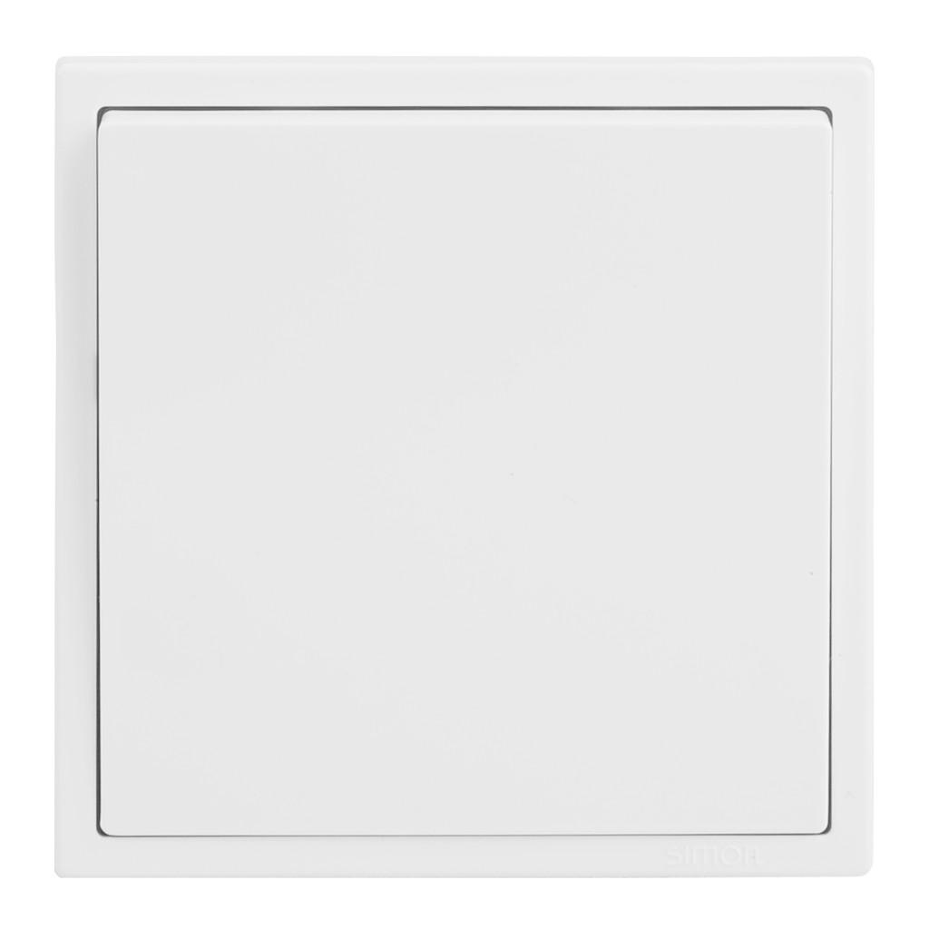 Bộ công tắc trung gian vuông (công tắc trung gian bật tắt nhiều vị trí đèn lắp đế vuông) Simon I7 701026