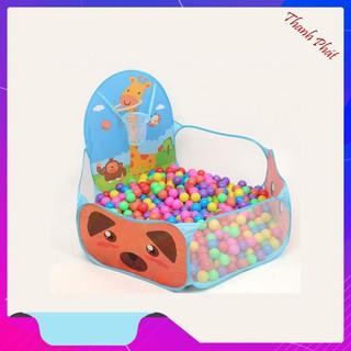 Lều banh lều bóng đồ chơi vận động cho trẻ em giá rẻ an toàn kèm bóng đồ chơi cho bé [HÀNG SIÊU RẺ]