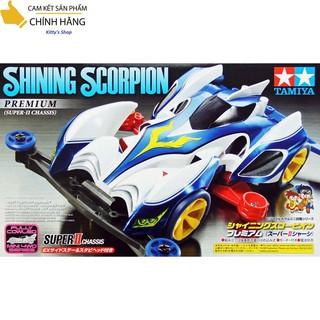 Xe đồ chơi tự lắp ráp có động cơ chạy pin Bọ Cạp SHINING SCORPION PREMIUM