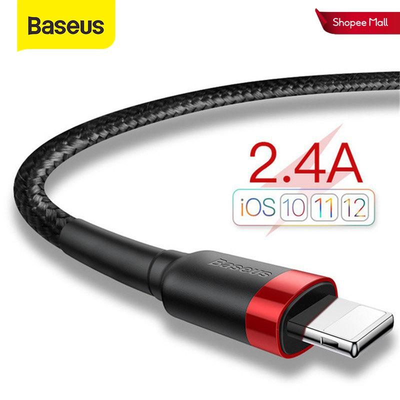 Cáp sạc và truyền dữ liệu Baseus cổng USB dành cho điện thoại iPhone