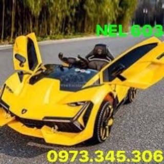 FREESHIP HÀ NỘI – Siêu xe ô tô điện trẻ em Lamborghini NEL-603 BẢO HÀNH 12 THÁNG