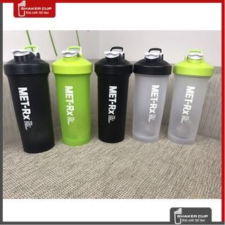 Bình lắc tập gym bình nước thể thao Shake bottle Met RX 1 lít
