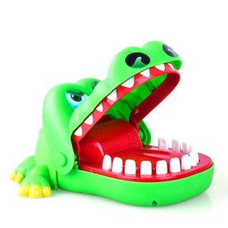 New Crocodile Game Toy Mouth Dentist Bite Finger Game Children Funny Party Toy