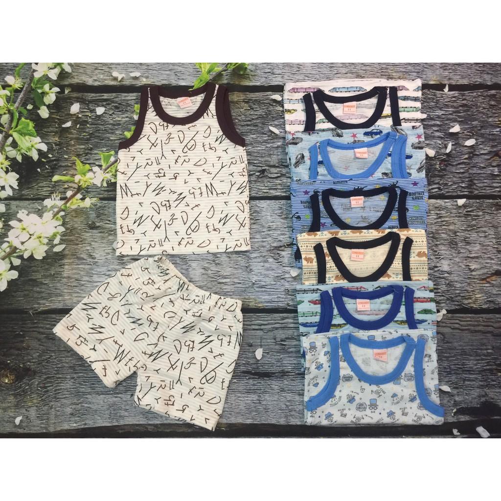 [Hàng xuất dư Nhật] Bộ quần áo ba lỗ cho bé trai tuyệt đẹp - 9997349 , 1044919588 , 322_1044919588 , 110000 , Hang-xuat-du-Nhat-Bo-quan-ao-ba-lo-cho-be-trai-tuyet-dep-322_1044919588 , shopee.vn , [Hàng xuất dư Nhật] Bộ quần áo ba lỗ cho bé trai tuyệt đẹp