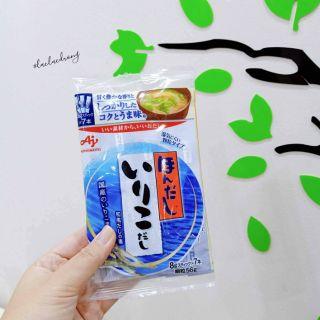 [Ajinomoto] Hạt nêm cá cơm, tảo bẹ, bò, nấm, rong biển gói nhỏ 4