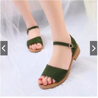 Giày sandal MYS quai ngang đế chiến binh SD0108