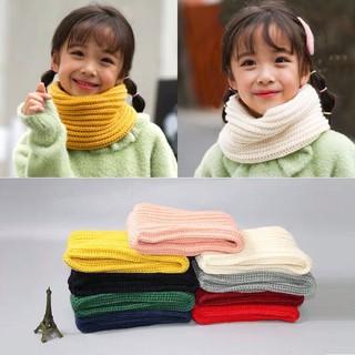 Khăn len ống giữ ấm cổ cho bé rất thời trang