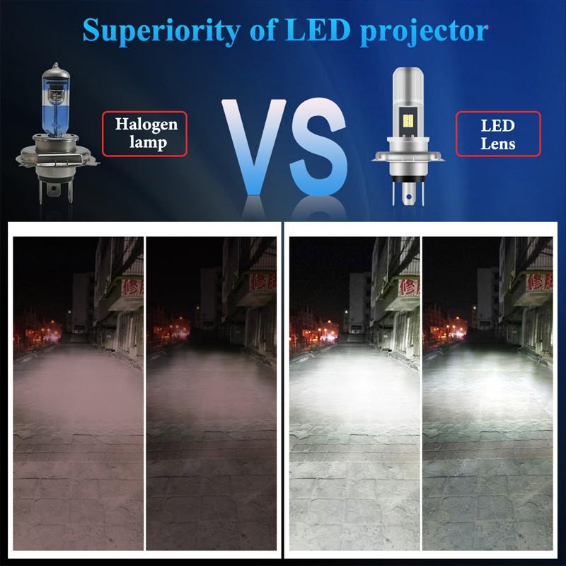 Đèn Pha Led 6000k P15D H4 T19 Ex5 Lc135 Lc135 Y125Z Tiện Dụng Cho Xe Mô Tô Kevanly