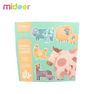Bộ xếp hình Động vật Mom & Baby giáo dục sớm cho bé Mideer 36 miếng