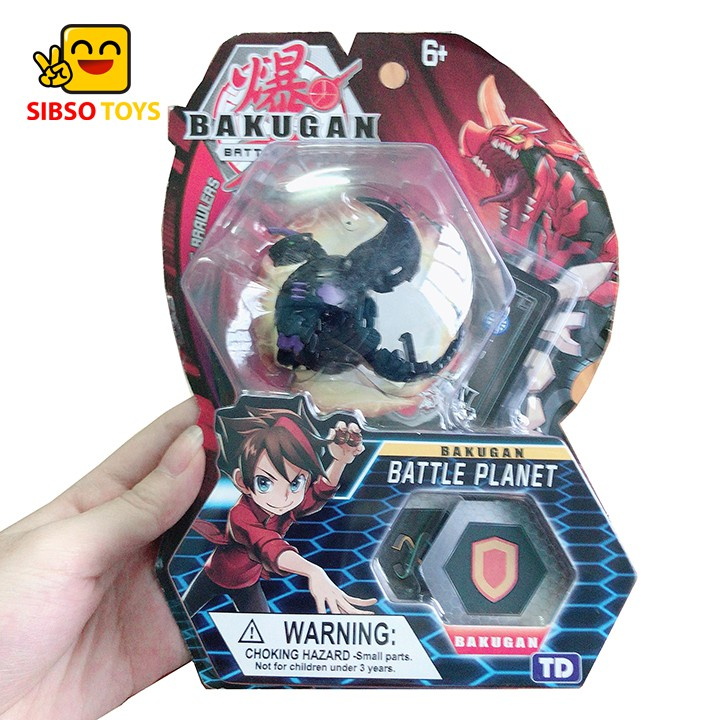 Chiến binh Bakugan Dragonoid tím đen