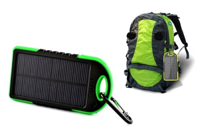 Pin sạc dự phòng năng lượng mặt trời 5600mAh