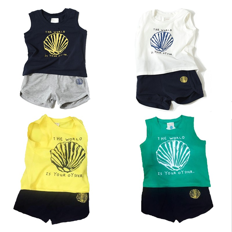 Set bộ quần áo ba lỗ The World VEMZKIDS cho bé trai bé gái