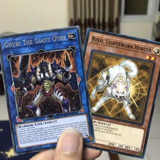 Mua 1 tặng 1: mua lá Gouki The Giant Ogre tặng thêm lá Ryko, Lightsworn Hunter