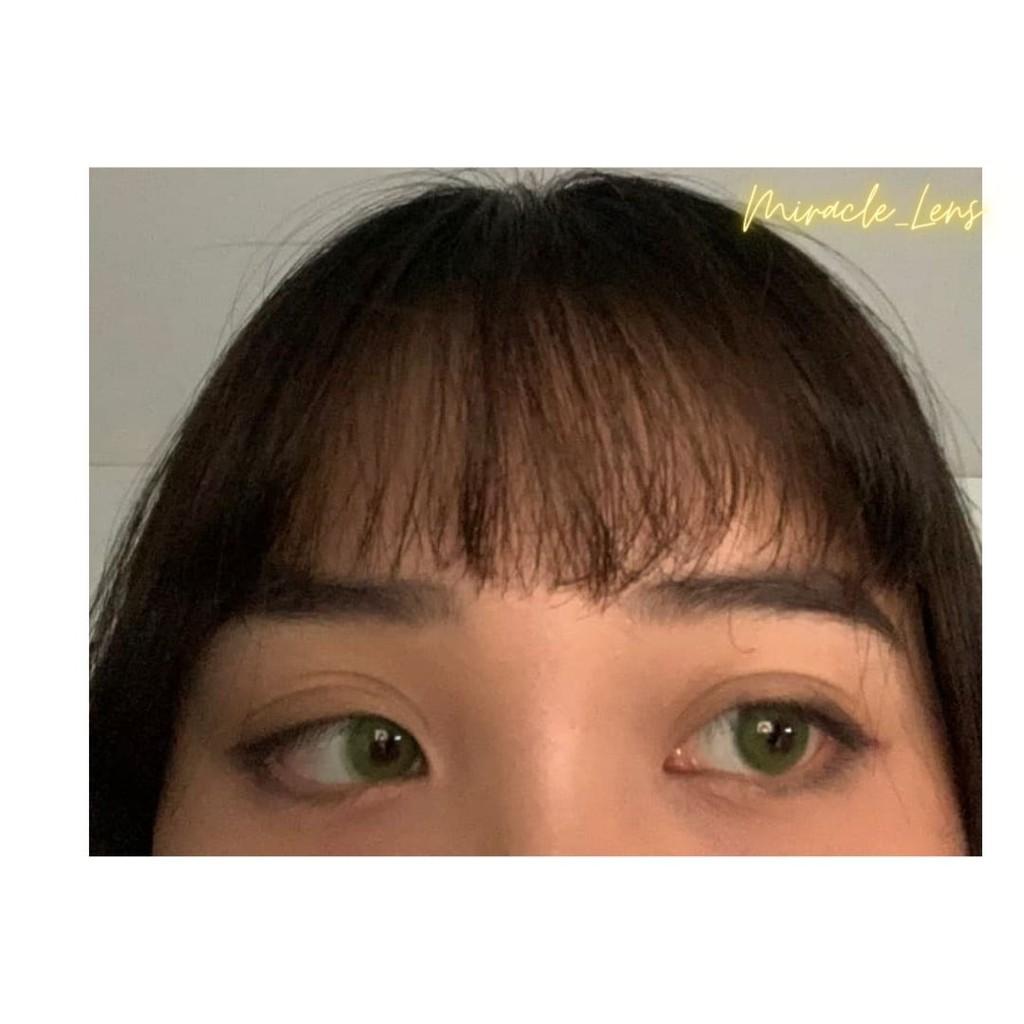 [Lens xanh lá] Kính áp tròng Hàn Quốc SIGNAL SKY GREEN - Lens cận thời trang