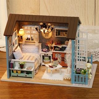 Nhà gỗ vintage – nhà tí hon tự tay làm