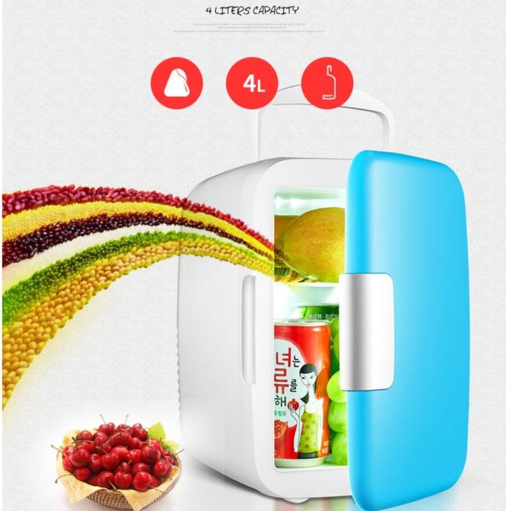 Tủ lạnh mini hộ gia đình và xe hơi VegaVN - 4Lít