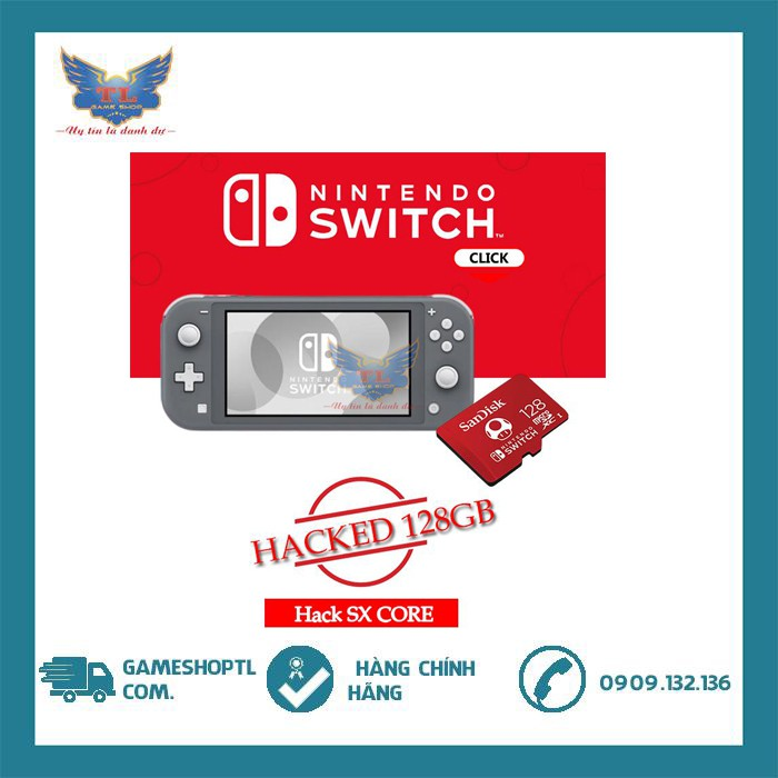 Máy Nintendo Switch Life Hack Chip Sx Core