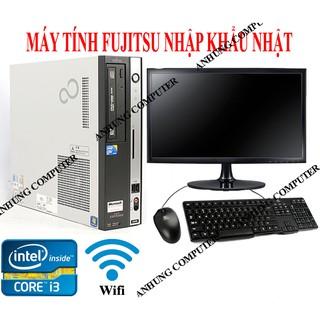 Bộ máy tính để bàn chip intel i3 PC FUJITSU NHẬP KHẨU JAPAN TRỌN BỘ CẢ MÀN HÌNH dùng Văn phòng công ty, học tập