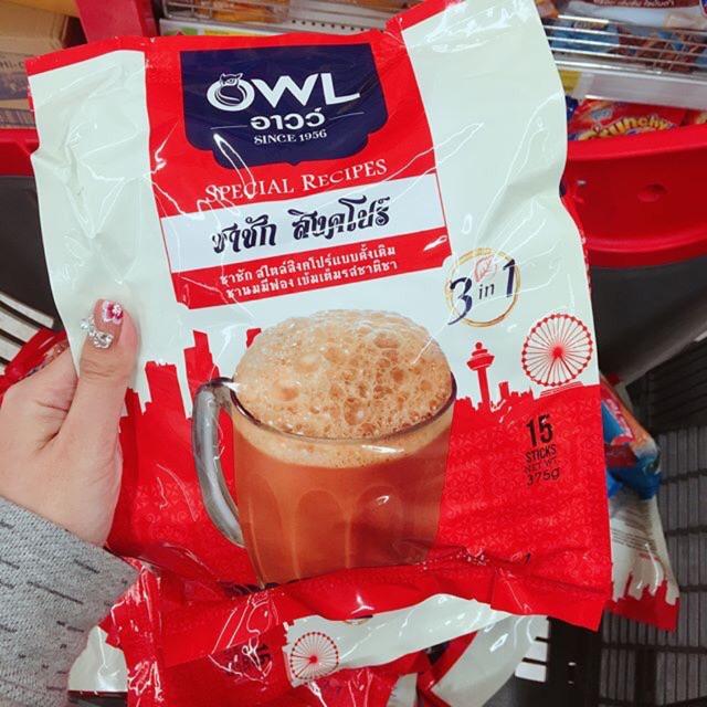 TRÀ SỮA OWL SINGAPORE ( nhập khẩu ở Thái )