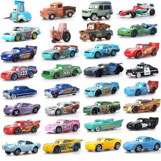 Mô Hình Xe Hơi Đồ Chơi Pixar Cars 2 3 Lightning 39 Style Mcqueen Mater Jackson Storm Ramirez 1: 55
