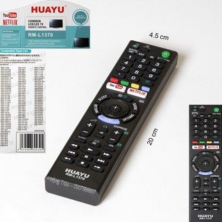 Remote Tivi Huayu for Sony RM L1370