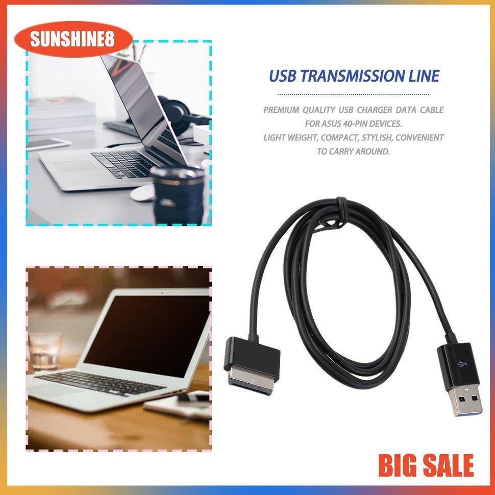 (0504) Dây Cáp Sạc Usb Cho Asus Eee Pad Transformer Tf101 Tf201 Tablet