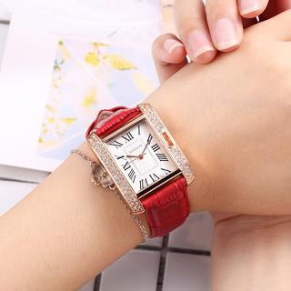 Đồng hồ thời trang nữ SHSHD đính đá S787