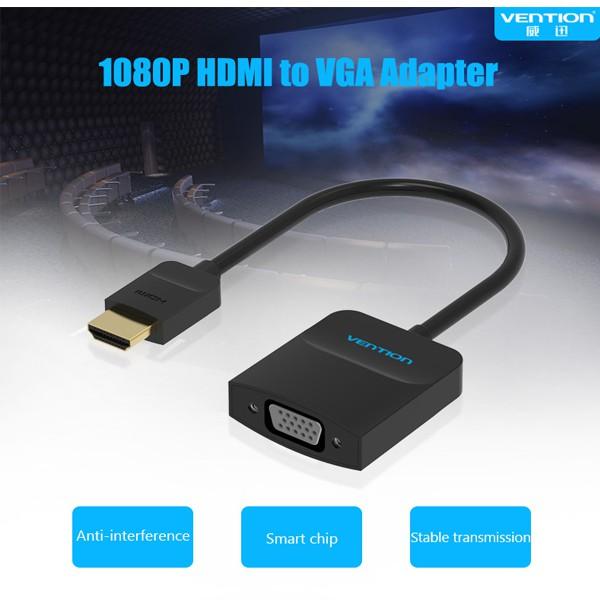 Cáp chuyển đổi HDMI sang VGA ( ABS) chính hãng Vention ACFBB