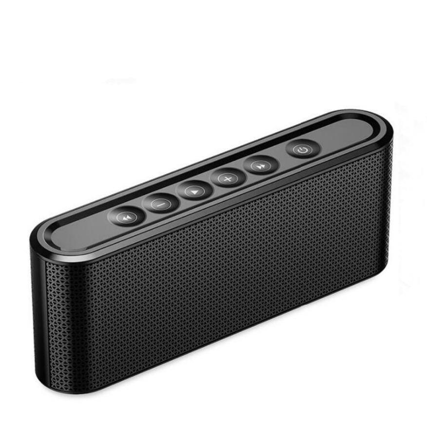 Loa siêu trầm loa Bluetooth Manovo X6 -Loa di động Mini rảnh tay cho điện thoại Ngoài trời và gia đì