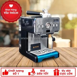 Máy pha cà phê Gemilai CRM-3605 Espresso mini chuyên nghiệp cho gia đình, văn phòng, quán cafe nhỏ