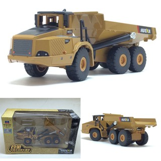 Children Articulated Dump Truck Model Toys High Imitation Alloy Engineering