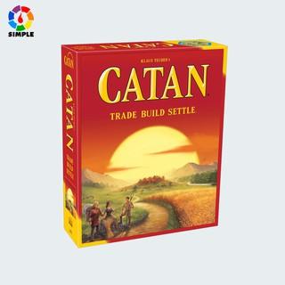 Trò chơi Catan phiên bản thứ 5 (English) 5th edition Boardgame thumbnail