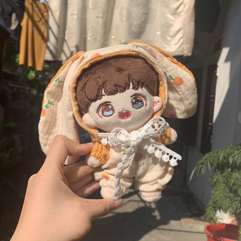 Tangerine outfit doll. quần áo gấu bông