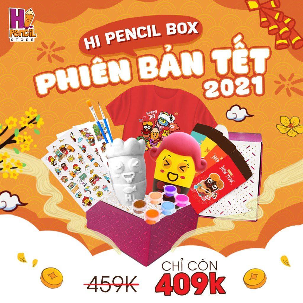 Combo 5 Món Quà Đồ Chơi Hi Pencil Box Bổ Ích Và Siêu Hấp Dẫn Cho Bé