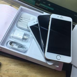 Điện thoại apple iphone 6 quốc tế 16gb. Hàng chính hãng – máy cũ đẹp 98 – 99% ko vết xước. Bảo hành 12 tháng.Lỗi 1 đổi 1