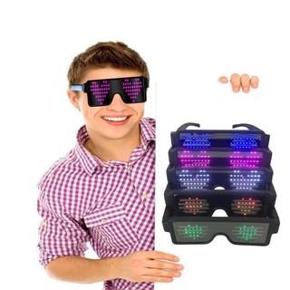 New LED Light Up Sunglasses Shades Flashing Blink Glow Glasses Party Rave