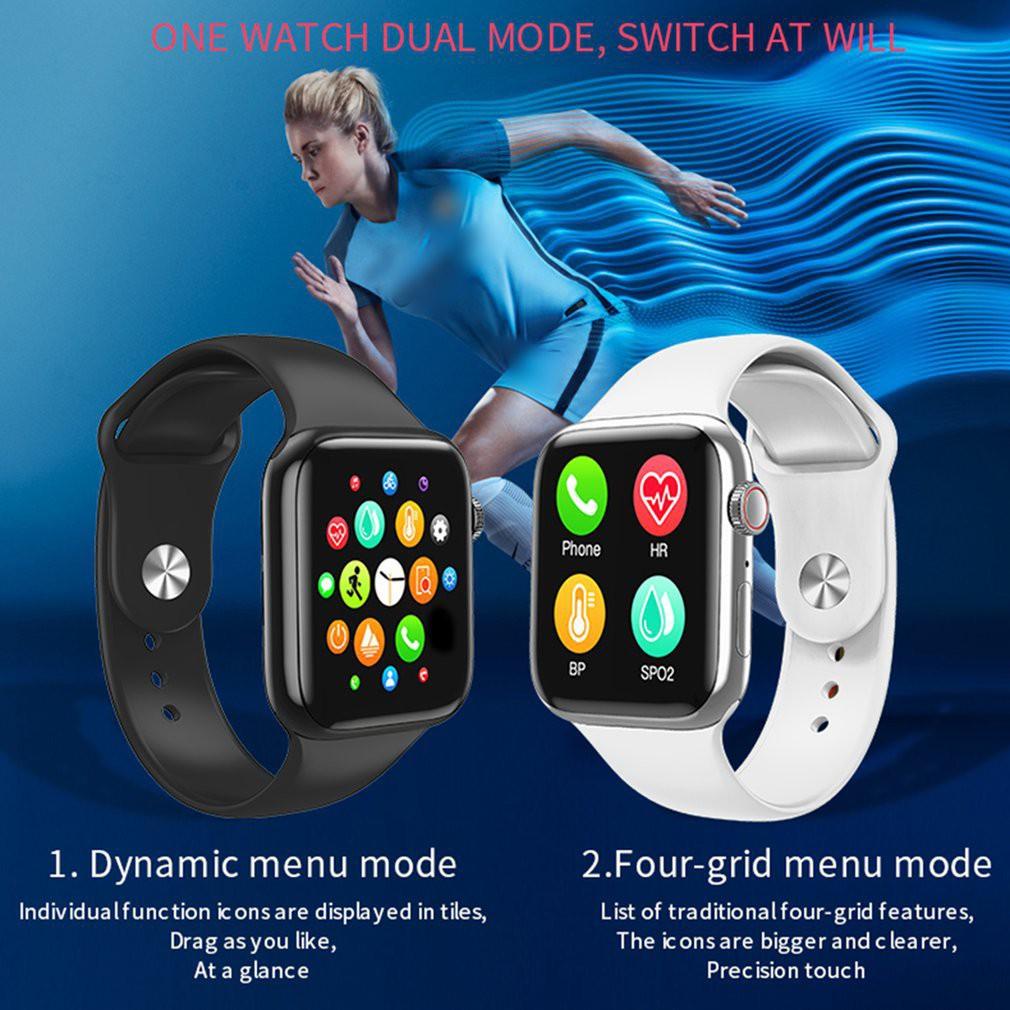 Ele⚡⚡Đồng hồ IWO 8 Lite W98 Hỗ Trợ Đo Nhịp Tim / Nhiệt Độ Cho IPhone Android Xiaomi