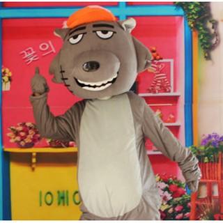 Quần áo hoá trang Mascot Sói xám – sinh nhật, sự kiện