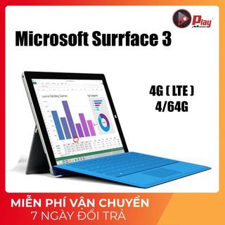Máy tính bảng Microsoft surface 3 – Chip Intel Atom x7-Z8700   Ram 4/64G   10.8INCH   Tại Playmobile