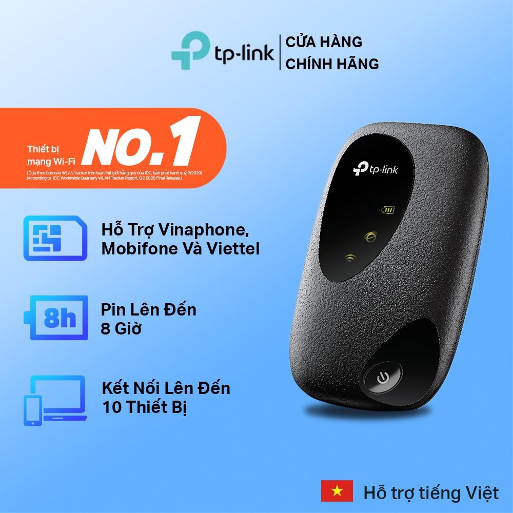 [Mã ELCL250K giảm 5% đơn 250K] TP-Link Bộ phát wifi di động 4G LTE - M7200